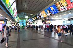Bangkok by skytrain: Siam