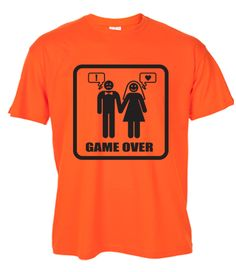 655f16f5 Game over stag T-shirt, available in many colours and with customisation if  required