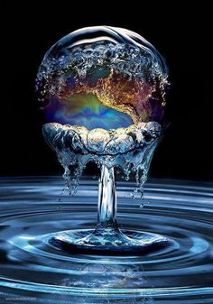Let's send our love, light, healing, pure sparkling clarity to all of our planets Water!!!  Imagine pure, clean, clear, natural, healthy water everywhere!!!