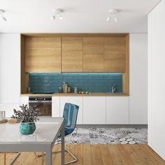 Modern, színes, fiatalos - 41m2-es egyszobás lakás IKEA termékekkel berendezve