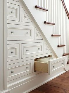 We have been involved in hundreds of loft converison projects throughout the Nor Understairs Storage converison hundreds involved Loft Projects Staircase Storage, Loft Stairs, Stair Storage, Under Stairs, Staircase Design, Hidden Storage, Stair Shelves, Wood Staircase, Loft Room