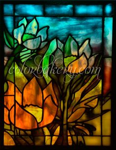 Glass Art | New stained glass art from Color Bakery. |