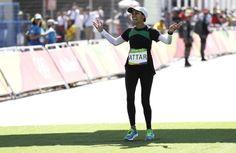 How Saudi Arabia's Sarah Attar Completed the Rio Marathon Covered Head to Toe