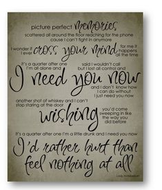 67 best song lyrics images on pinterest song quotes country love this song need you now lady antebellum lyric digital typography poster stopboris Images