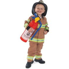 Fire Fighter Costume for Fireman Party