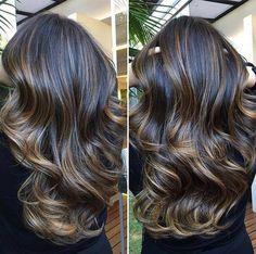 Cut Her Hair, Hair Cuts, Brunette Hair With Highlights, Hair Affair, Hairstyles Haircuts, Balayage Hair, Gorgeous Hair, Hair Looks, Blond