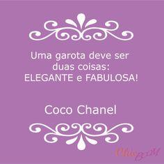 #frase #moda #chanel