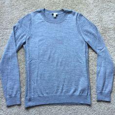 Gap Women's Gray Extra Fine Merino Wool Pullover Crewneck Sweater Size Large   eBay