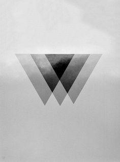 #shapes #black and white #FuckingGoodImages