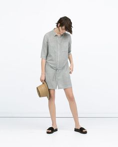 ZARA - WOMAN - SHIRT DRESS