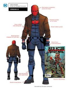 DC Rebirth Character Designs: Red Hood Version - Art by Giuseppe Camuncoli Comic Book Characters, Comic Character, Comic Books Art, Character Design, Comic Art, Cosplay Characters, Character Sheet, Dc Rebirth, Robin Dc