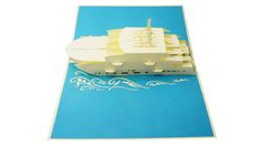 Cruise ship Greeting Pop-Up Card Pop Up, Transportation, Cruise, 3d, Cards, Popup, Cruises, Maps, Playing Cards