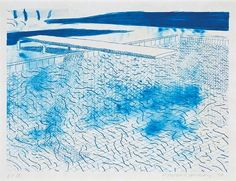 View Lithograph of Water Made of Lines by David Hockney on artnet. Browse more artworks David Hockney from Susan Sheehan Gallery. Robert Rauschenberg, Edward Hopper, Magritte, Paul Klee, David Hockney Prints, David Hockney Pool, Yorkshire, Pop Art Movement, Claes Oldenburg