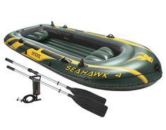 4. Intex Seahawk 4 Inflatable Boat