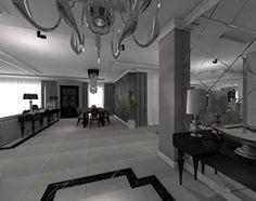 Hol / Przedpokój styl Glamour - zdjęcie od STUDIO WHITE Architektura Wnętrz