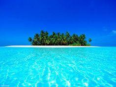 Einsame Insel auf den Malediven http://www.abendsonne.net/fotografie/122/asien/einsame-insel-auf-den-malediven