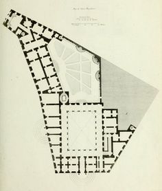 "Vignola & Martino Longhi ""el Viejo"" | Palacio Borghese | Roma; Italia | 1560-1571"