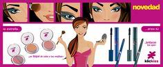 Nuevos coloretes, lápices y máscaras de pestaña de la marca KlicKiss de CRISTIAN LAY.  www.cristianlay.com
