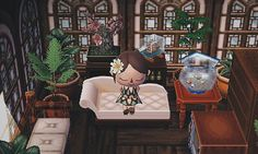 animal crossing decor ideas! - jessica-crossing: mayor's bedroom! (feat. a lil...