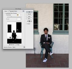 Take Out Photo: Change Background color in Photoshop