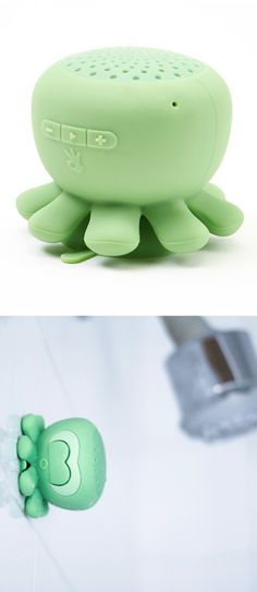 Objects of Desire Octopus Bluetooth Shower Speakers // I need this in my life