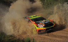Martin Prokop of Czech Republich and Jan Tomanek of Czech Republich compete in their Jipocar Czech National Team Ford Fiesta RS WRC during Day Two of the WRC Italyin Alghero