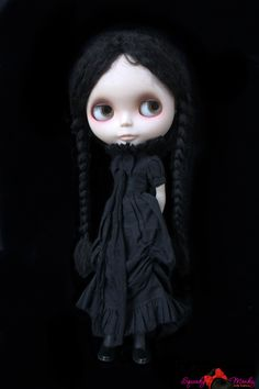 Annabel Lee Black Mourning Dress