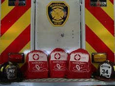 Three oxygen masks kits were recently donated to the Woodruff Fire Department by Invisible Fence(R) Brand.