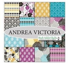 Andria Victoria FQB, a little bit of Modern for my stash!!!