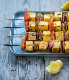 As a vegetarian barbecue option, these paneer and red pepper skewers are truly wonderful. - Alfred Prasad