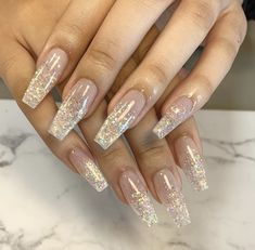 Acrylic Nail Designs Classy, Gorgeous Nails, Mani Pedi, Acrylic Nails, Colorful Nails, Pretty Nails, Acrylics, Acrylic Nail Art, Acrylic Na