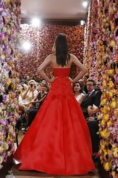 Raf Simons for Christian Dior during Couture Fashion Week