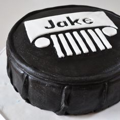 JEEP cake! Maybe someday for my little William Michael Jeep :)