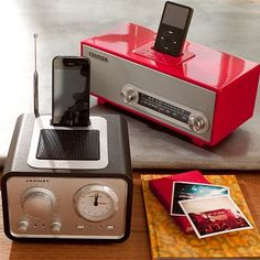 Crosley Vintage Radio + Alarm Clock #potterybarnteen    SO hard to find a stylish alarm clock these days, but think I've done it!