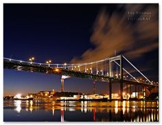 Gothenburg, Sweden, by night