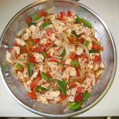 2 servings - 38 grams of protein per serving! Lots of high protein recipes also. High Protein Low Carb, High Protein Recipes, Low Carb Recipes, Diet Recipes, Chicken Recipes, Cooking Recipes, Healthy Recipes, Recipe Chicken, Healthy Cooking