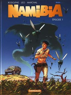 Cover di Bertrand Marchal #Namibia #Lanciostory #EditorialeAurea #Dargaud #Bertrand#Marchal