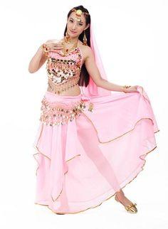 63053311ddb 5pcs Set Belly Dancing Costume Sets Egyption Egypt Belly Dance Costume  Bollywood Costume Indian Dress Bellydance Dress