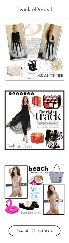 """""""TwinkleDeals I"""" by b-necka ❤ liked on Polyvore featuring twinkledeals, By Terry, Too Faced Cosmetics, NYX, Hawaiian Tropic, Avenue, GALA, Clinique and Oscar de la Renta"""