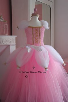 Robe tutu, robe de princesse, 2-4 ans
