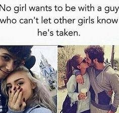 This is true, by having other people know that your partner is taken it gives a sense of being safe and knowing that no one will make a move on them. Teen Couples, Cute Couples Photos, Cute Couple Pictures, Cute Couples Goals, Cute Relationship Texts, Couple Goals Relationships, Relationship Goals Pictures, Boyfriend Goals, Future Boyfriend