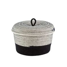 Even A Basket Can Be Multicultural . These hand crafted baskets provide a modern twist on the ancient African tradition of basket weaving. // via: DesignBreak Rope Basket, Basket Weaving, African Traditions, Bathroom Essentials, Cotton Rope, Home Decor Accessories, Canning, Outdoor Decor, Baskets