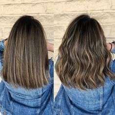 Warm Beige Brondes Cut and color by Brown Hair Balayage, Brown Blonde Hair, Balayage Brunette, Brunette Hair, Hair Highlights, Sleek Hairstyles, Summer Hairstyles, Long Layered Haircuts, Mi Long