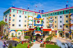 A LEGO Version Of A Hotel Is Every Kid's Fantasy Come True