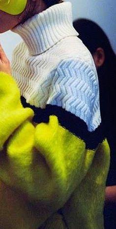 stitch Knitwear Fashion, Knit Fashion, All Fashion, Sweater Fashion, Fashion Details, Urban Fashion, Fashion Design, Cute Night Outfits, Textile Fabrics