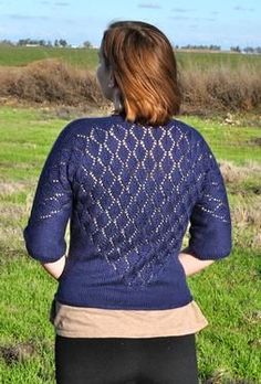 Dolicissima Cardigan - Knitting Patterns by Rose Stewart