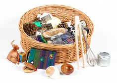 Toddler (Large, 35 Items) : Heritage Treasure Baskets