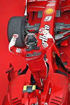 Kimi Raikkonen Brazil 2007, World Champion