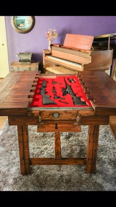 Cool idea for a table I'd make it :)