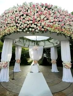 Wedding Chuppah (Canopy) by PrincesseJen, via Flickr